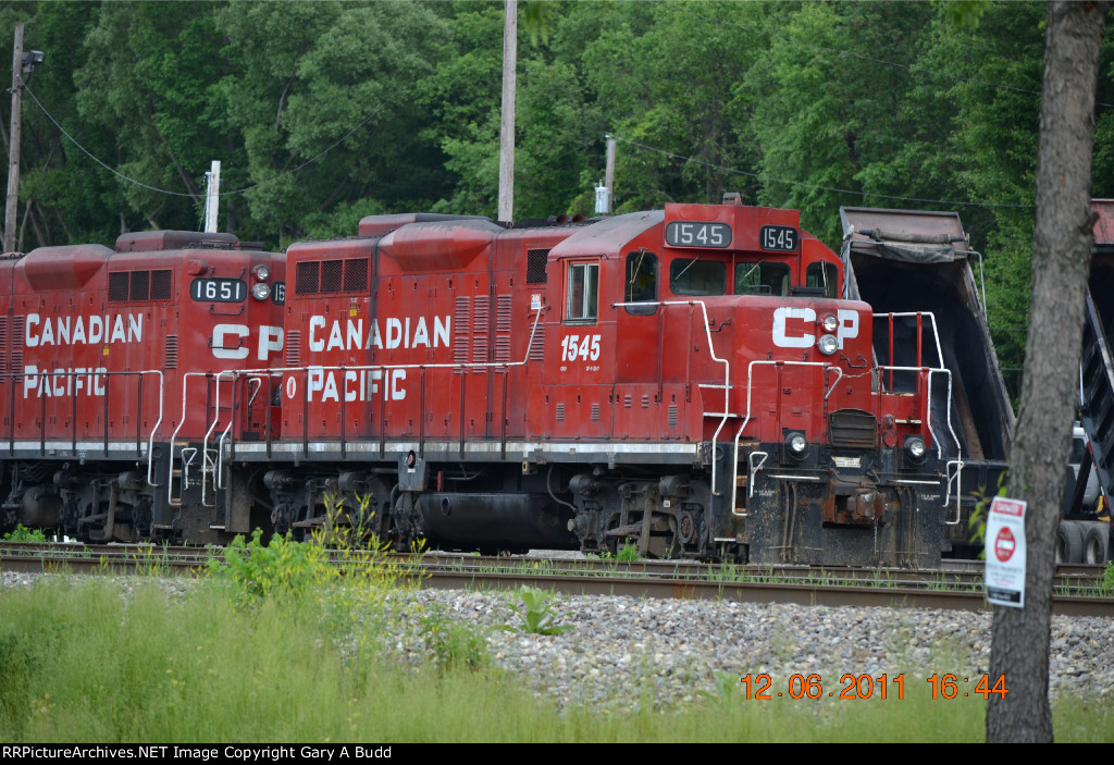 CANADIAN PACIFIC GP9u 1545
