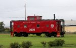 Atlantic Coast Line Caboose #600 at the CSX engine Facility