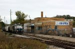 Mid Michigan #24 heads west past the old GTW Depot