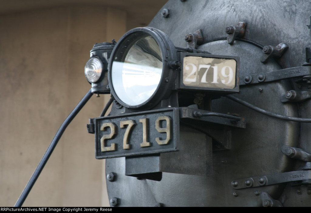 SOO 2719 class, headlight and numberboards