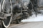 SOO 2719's drivers engulfed in steam