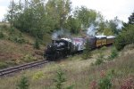 SOO 2719 in cut by CN bridge