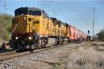 Southbound unit potash train