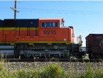 BNSF SD70ACe 9215
