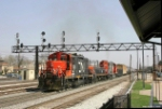 Southbound CN/GTW Mixed Freight