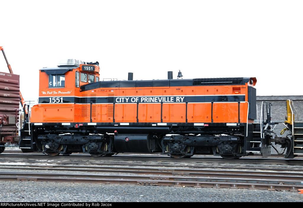 City of Prineville Ry's new SW1500