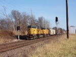 UP 8093 Passes some signals