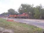 BNSF 8628 in Eureka