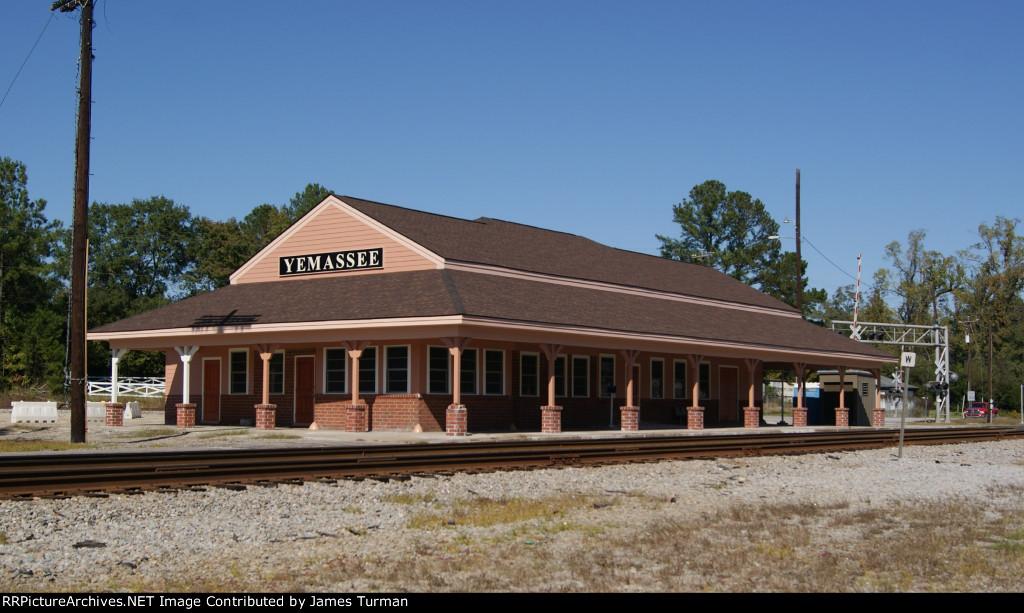 Rebuilt Yemassee Station 2