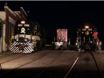 Southern 2601, Norfolk Southern 1616, and Norfolk & Western 522