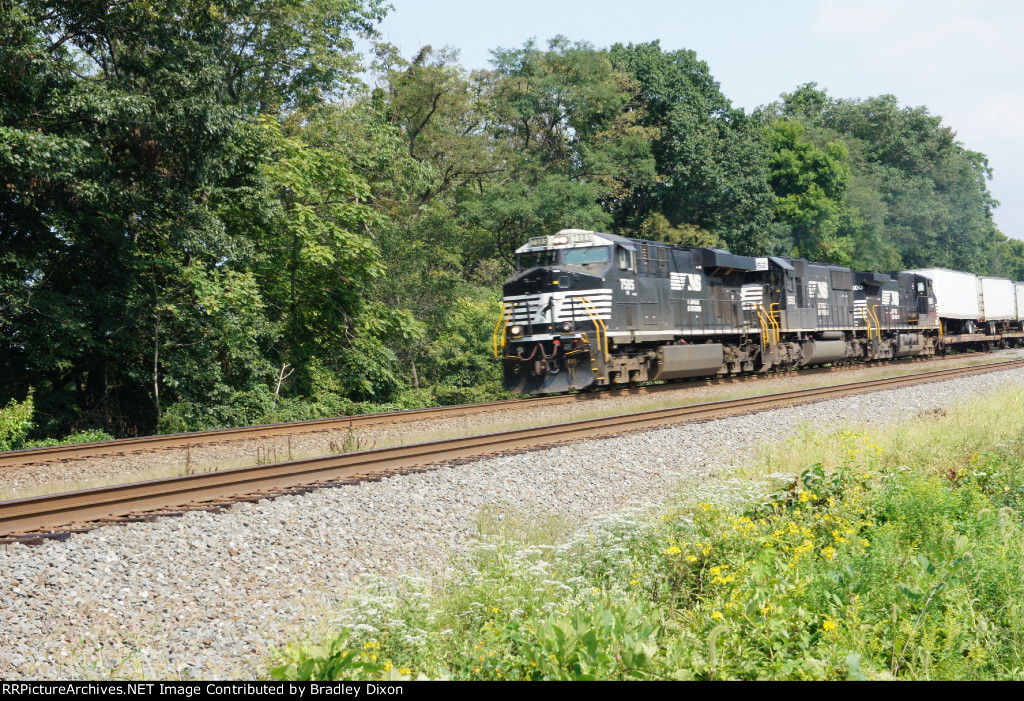 NS 7585 with NS 2552 and NS 9800