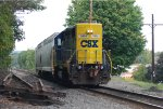 CSX 2805 running Longhood forward