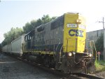 CSX C712 switches at ALuf on a hot summer day