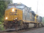 CSX Q439 with ES44AC on point in Valley Cottage
