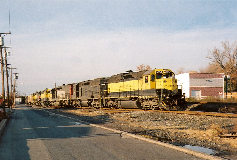 The return of an SD45!