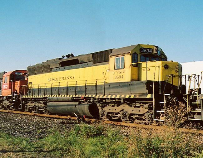 NYS&W 3634