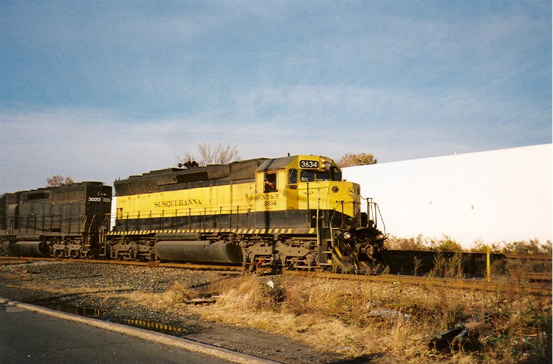 One of the SD45's return!