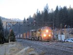 UP 7630 CP RV205, West Truckee (Donner Pass)