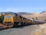 UP 4218 WB Manifest Through Verdi, Nevada (Roseville Subdivision)