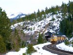 UP 4218 WB Manifest Tunnel #35 (Roseville Sub - Donner Pass)