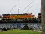 BNSF C44-9W 5412