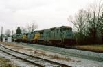 CSX 7528 detouring on NS