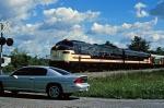Tennessee Bicentennial Train with ex-BN E9s