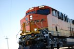 Up Close shot of BNSF 6808 as she enters the yard at Barstow.