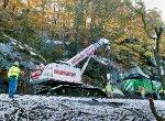 CSX Q261 hits rockslide on the Metropolitan Sub