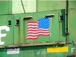 BNSF 2811 STILL PROUDLY WEARS OUR NATION'S COLORS