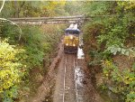 CSX on Alabama & Tennessee River Railway heading toward Gasden.
