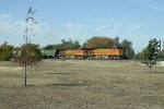 BNSF 4747 and 5299