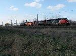 CN 384 at Komoka
