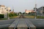 Crossing at Mangum St