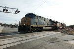 CSX leading EB Stacker