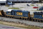 CSX Road Slug 2258 (ex Gulf, Mobile & Ohio GP30 515/ex Illinois Central Gulf 2265) trails on rail train J030 north