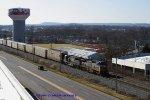 CSX Q284 north passing Western Kentucky University