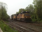 Union pacific SD70ACe on NS 212