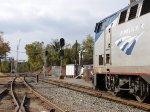 Amtrak #51 prepares to leave Charlottesville