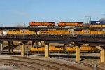 UP and BNSF Trains