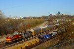 Westbound KCS Yard Job Train