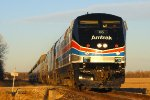 Eastbound Amtrak Southwest Chief Train #4 - AMTK 66