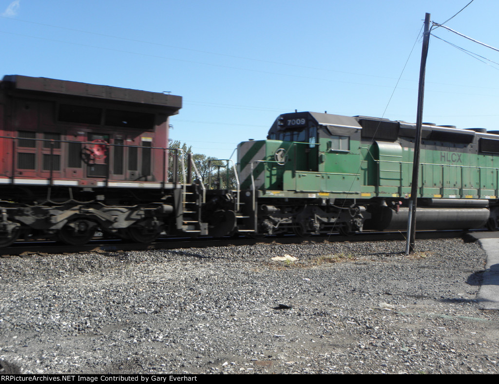 HLCX 7009 and CP 9660