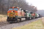 BNSF Road Freight