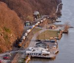 CSX L010 heads south to New Jersey