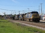 CSX 9025 & 8503 head up Track 2 with Q335-07