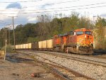 BNSF 6048 brings up the rear as D801 continues on with N956