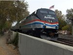 Amtrak 822 and Old Glory