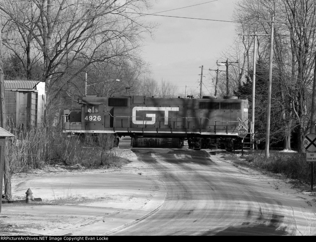 CN L500 With GT 4926 Solo :)
