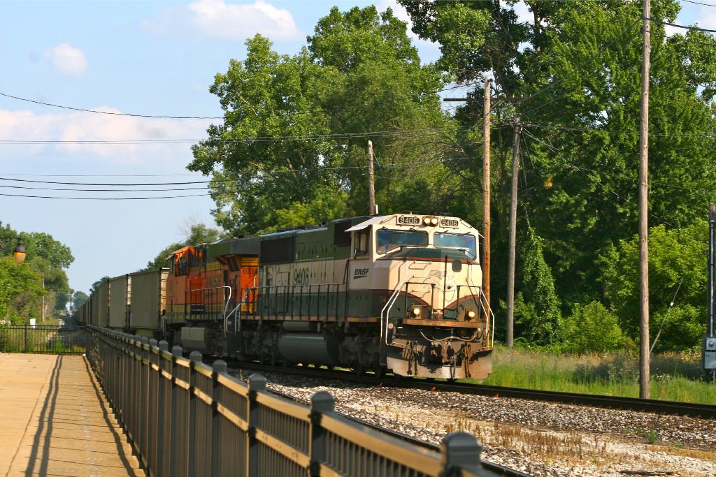 Train C767 north